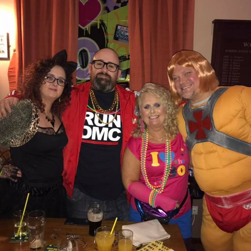 Well Done Michelle!! 80's Night Raising Over £800 for Maggie's Manchester!!