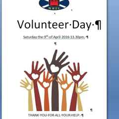 Volunteers day at MW