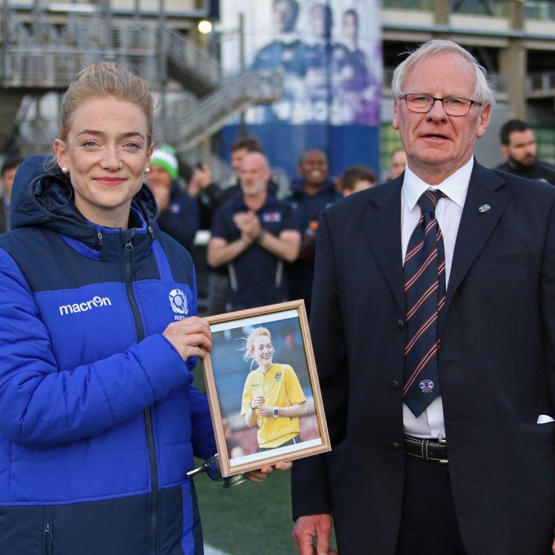 Hollie Davidson - International Referee