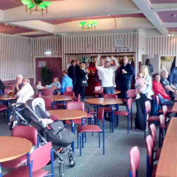 Clubroom access during Autumn Internationals.