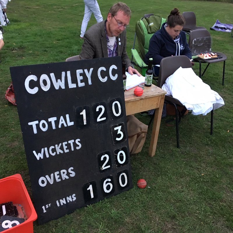 Cowley CC v Swindon Beehive CC Weds 15th August 2018