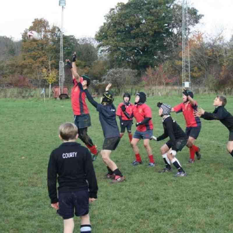 Fawley U11's v Andover @ Overton RFC