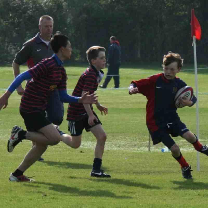 Fawley v U13 Barbarians U13 Cup