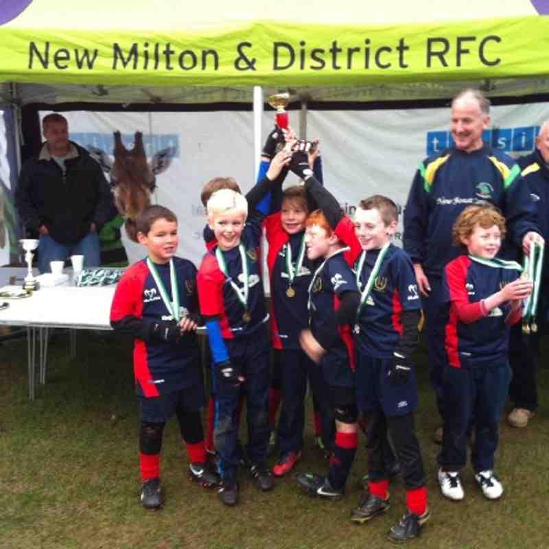 U9 New Milton Emerging Teams 2012