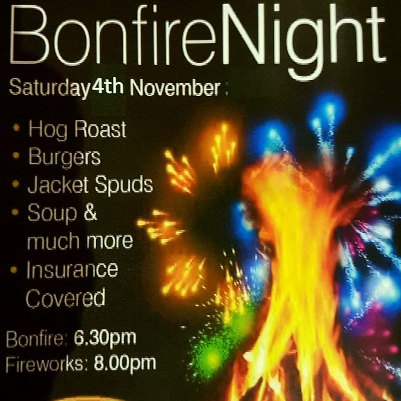 Bonfire And Firework Display