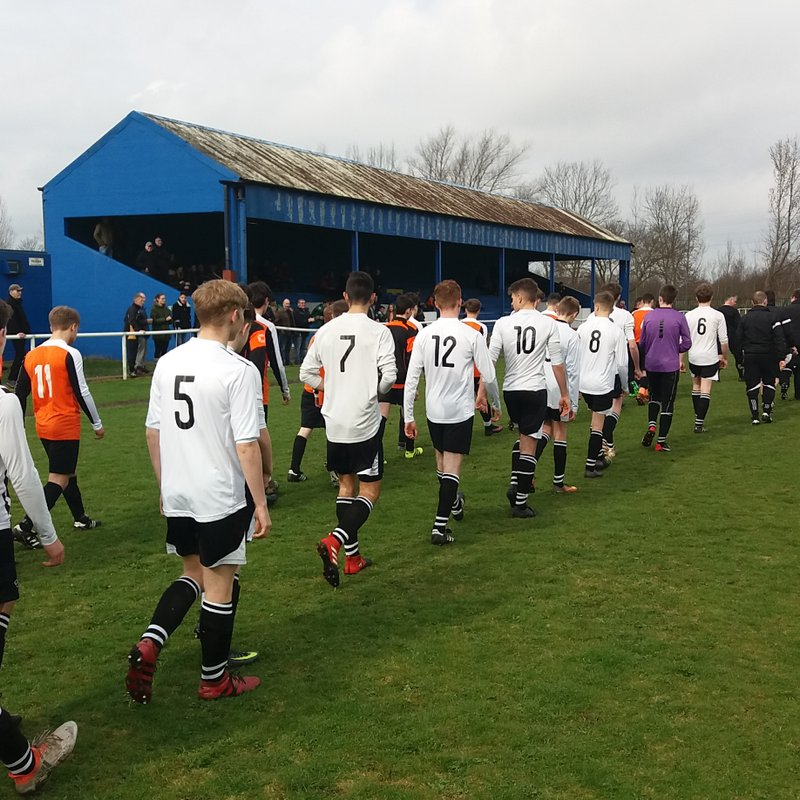 Ordsall Rangers U16s Win Semi-Final Penalty Shoot Out against Bawtry