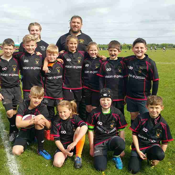 Great showing at Essex Festival by Rochford U10's