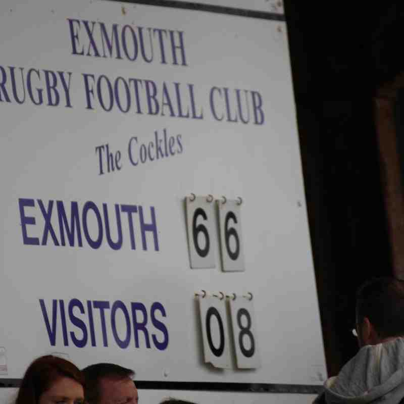 Exmouth 66 Oxford Harlequins 8