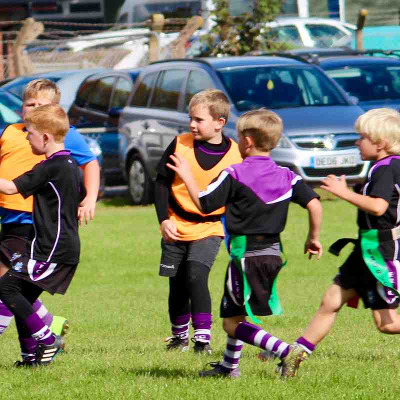 mini rugby demonstration