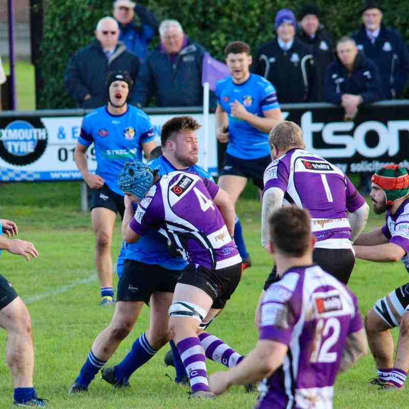 Exmouth 33 Weston Super Mare 34