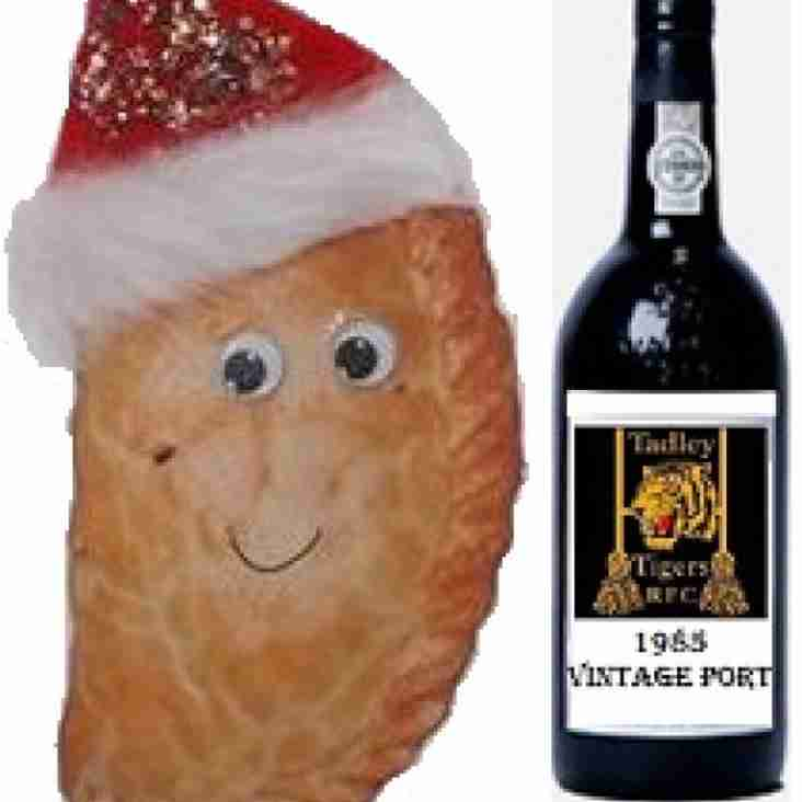 4th Annual Tadley RFC Christmas Pasties & Port Unders & Overs Match