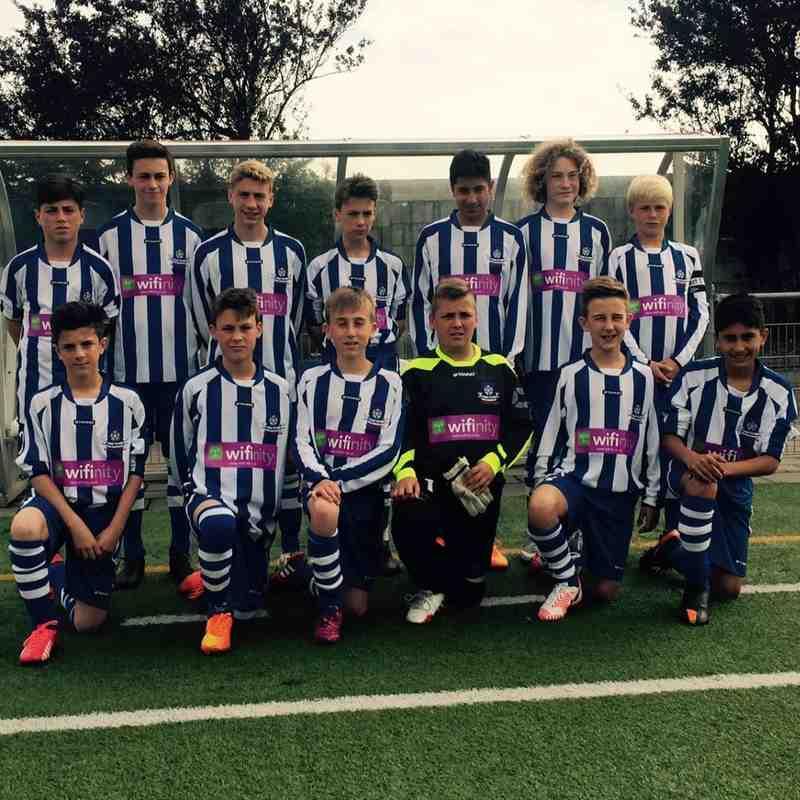 Team before RCH Heemstede fixture