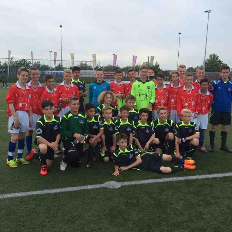 2 Teams before S.V. Hoofddorp fixture