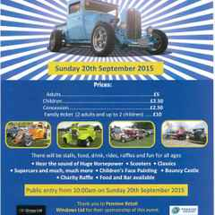 Charity Hot Rod & Custom Car Show at Lepton Highlanders