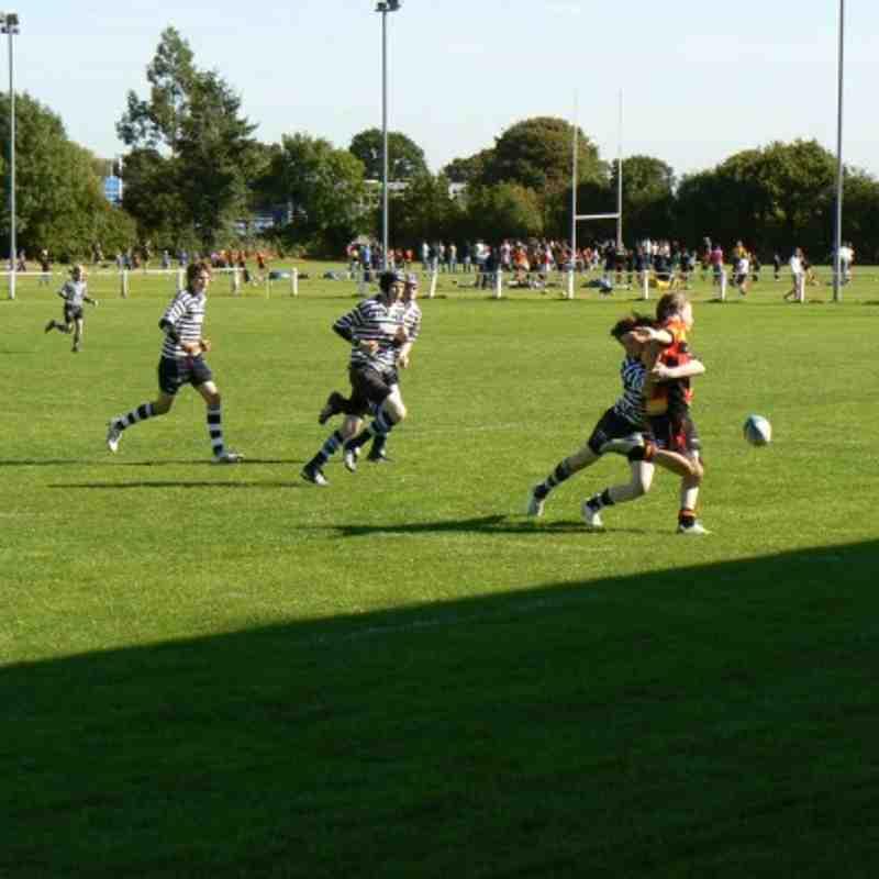 U14s 1st XV vs Pocklington 20.09.09
