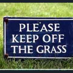 Keep Off the Pitches !!!