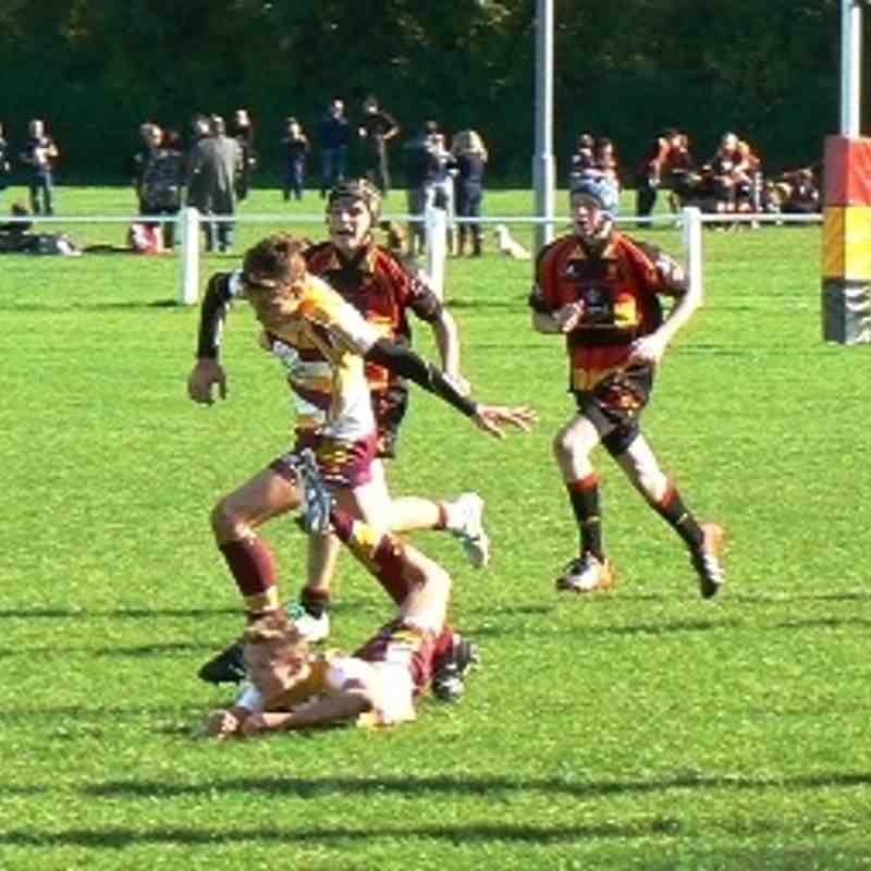U15s vs Sandal - Yorkshire Cup