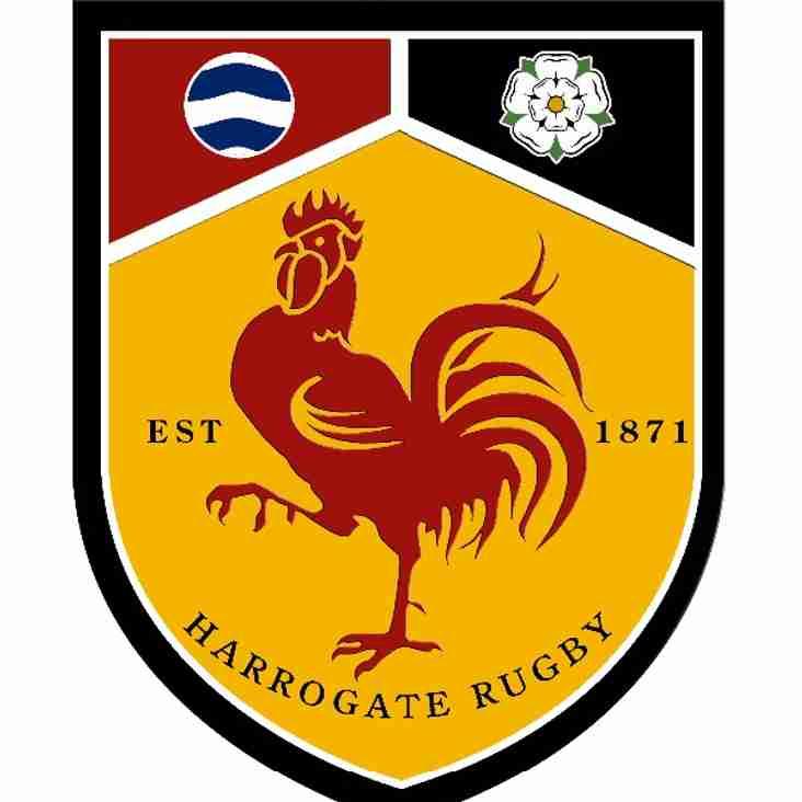 Harrogate V Sedgley Park, 2.00 p.m. kick off.
