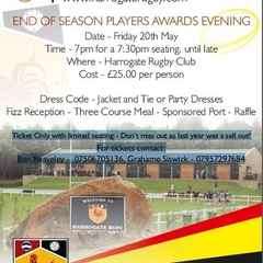 End of Season Player's Awards Evening