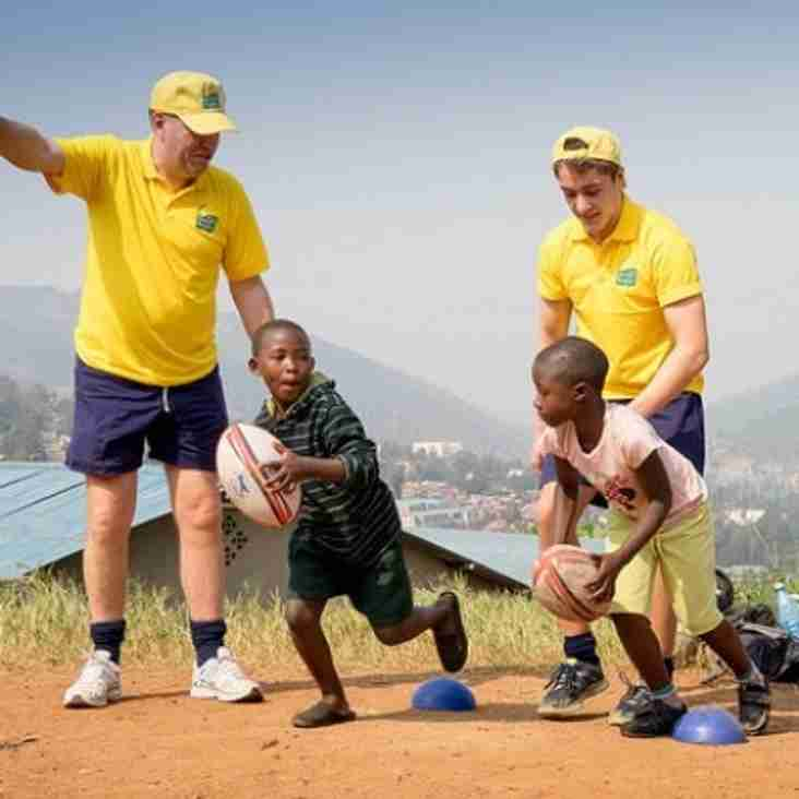 Gerry Thomas - Friends of Rwandan Rugby