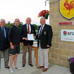 Harrogate Rugby Club RFU Accreditation