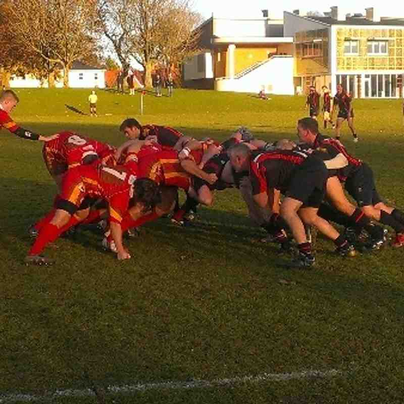 Blandford RFC Vs Sherborne RFC 2nd XV