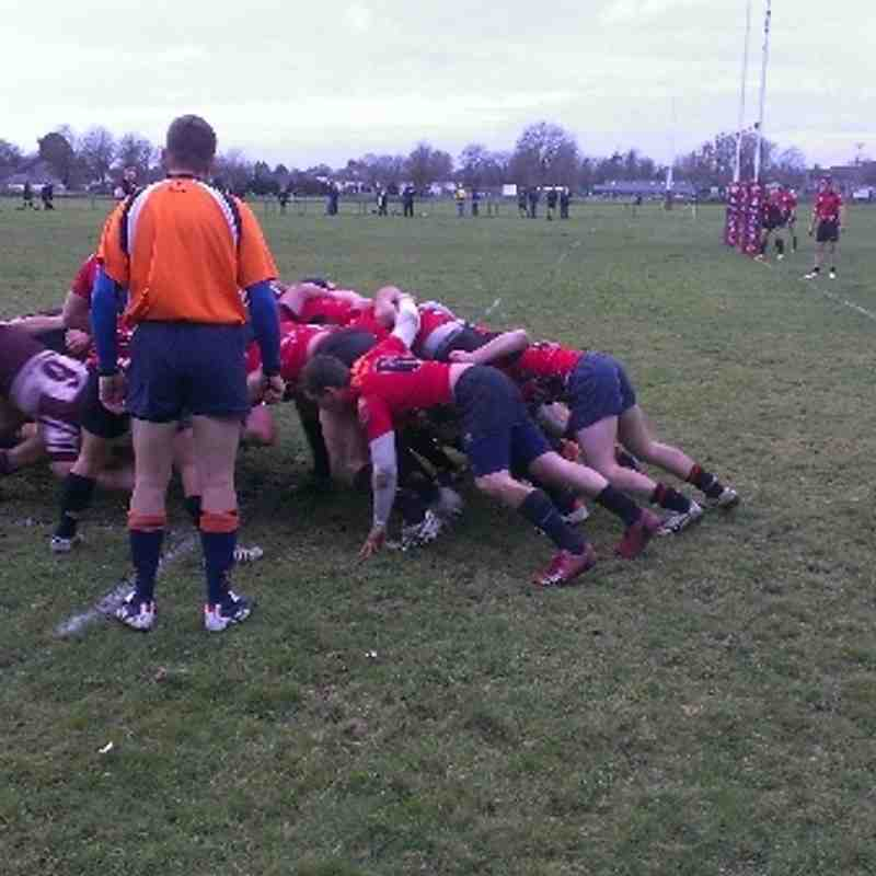 Swanage & Wareham 2nd XV Vs Sherborne 2nd XV