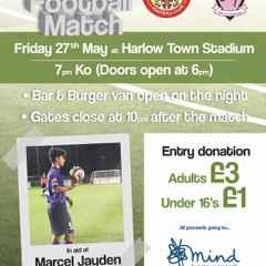 Marcel Jayden Charity Football Match