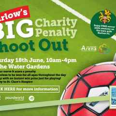 Harlow's Big Charity Penalty Shoot Out