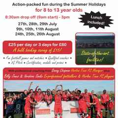 Summer Soccer Camps at the Harlow Arena