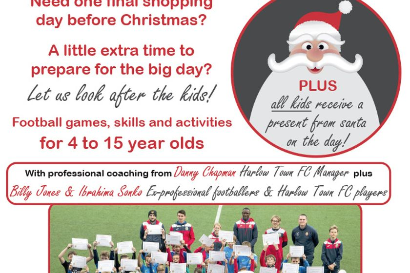 Christmas Soccer Camp