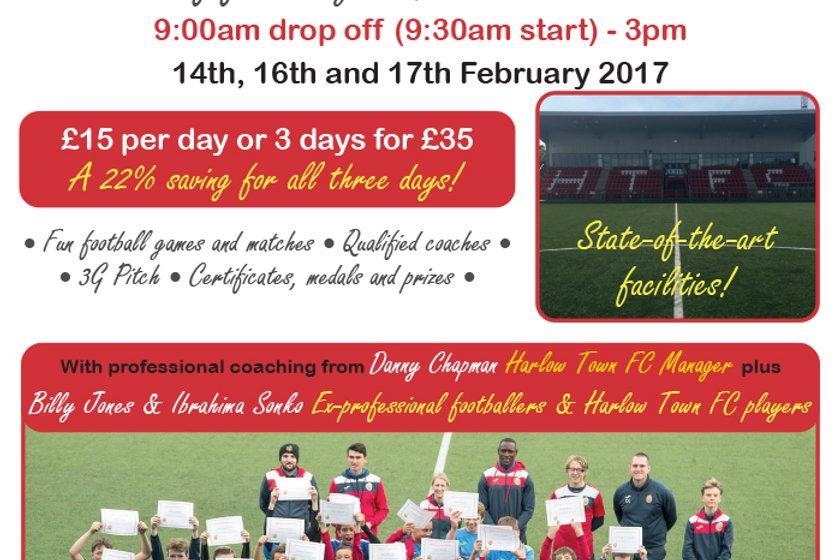 February Half Term Soccer Camp