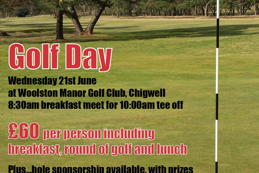 Harlow Town FC Golf Day