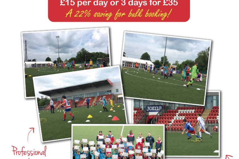 October Half Term Soccer Camps