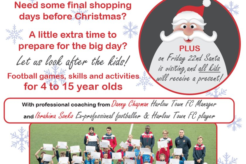 Christmas Soccer Camps