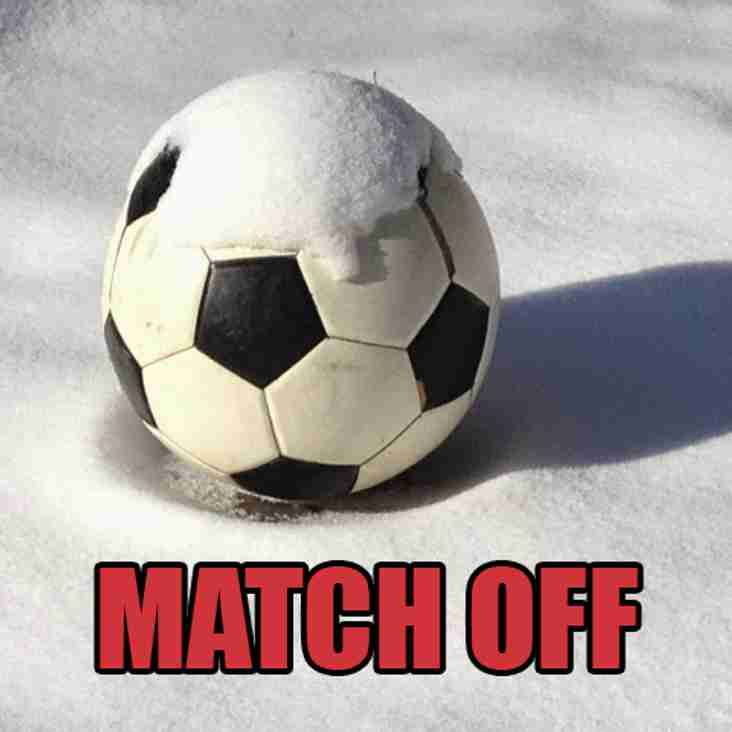 Merstham match postponed