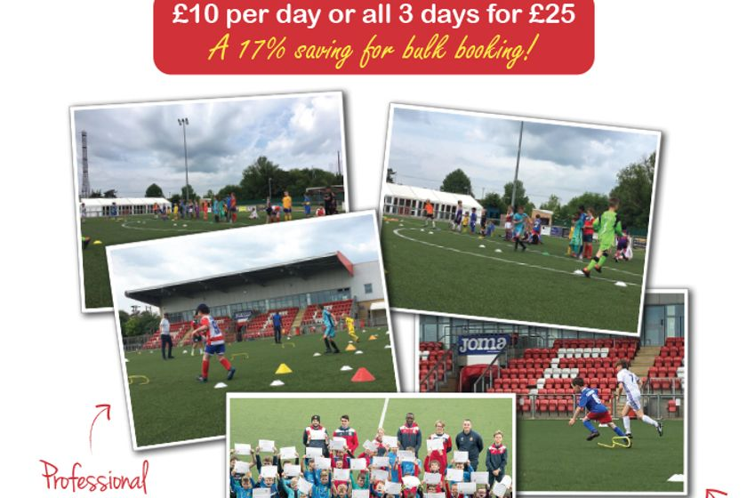 Half Term Soccer Camps