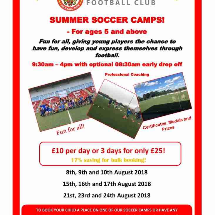 Summer Soccer Camps