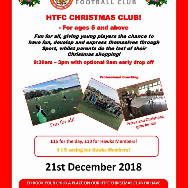 HTFC Christmas Club