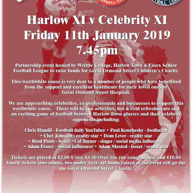 Celebrity Charity Game