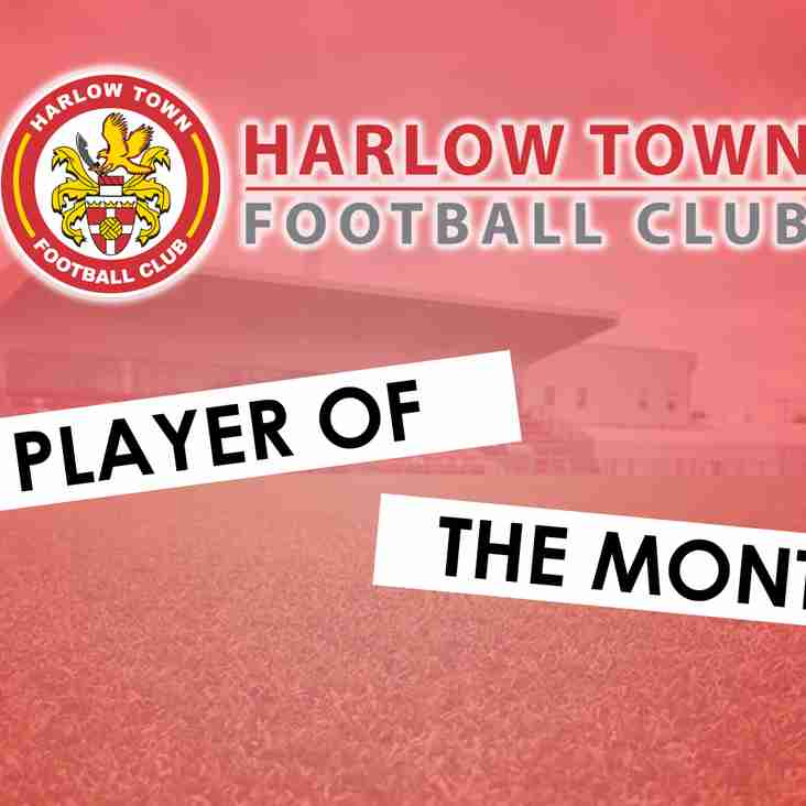 January Player of the Month Winner