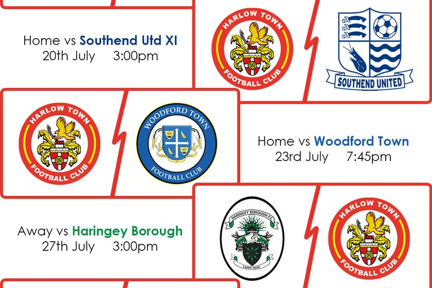 Pre-season friendly admission information