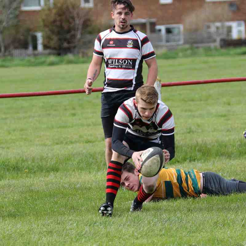 Redcar Mariners v Northallerton 2nds, April 2018 (1st Half)