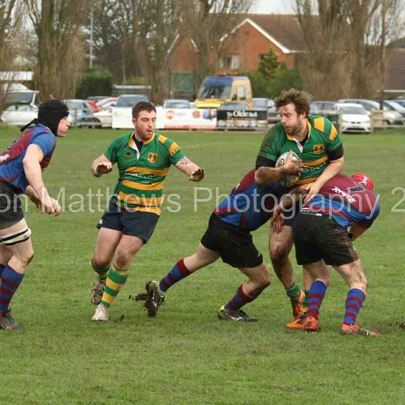 Retford rugby 1st v Rolls Royce