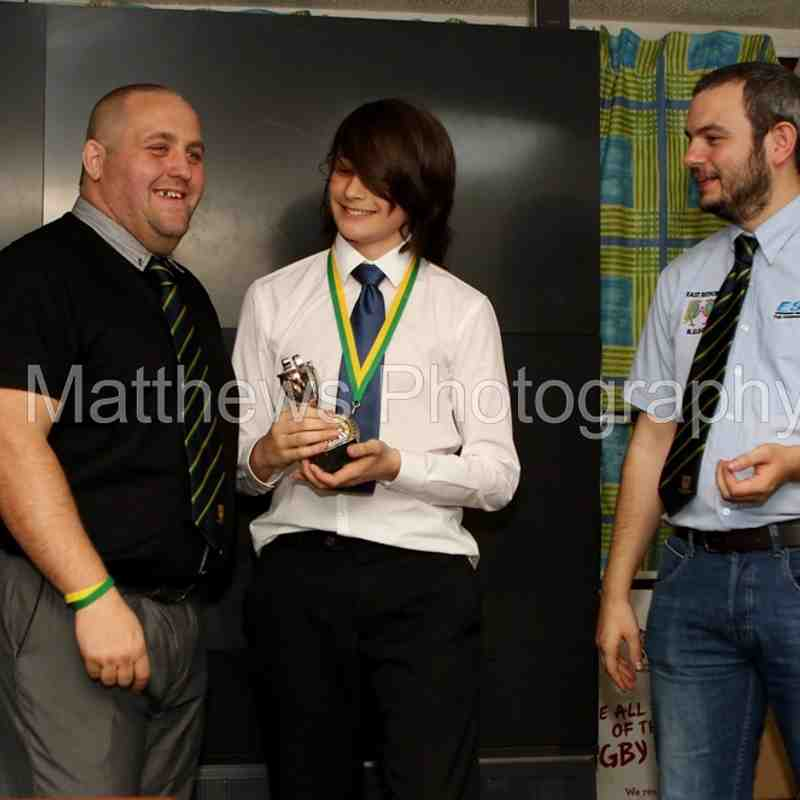 Kurt Spencer's, Presentation Night 2016