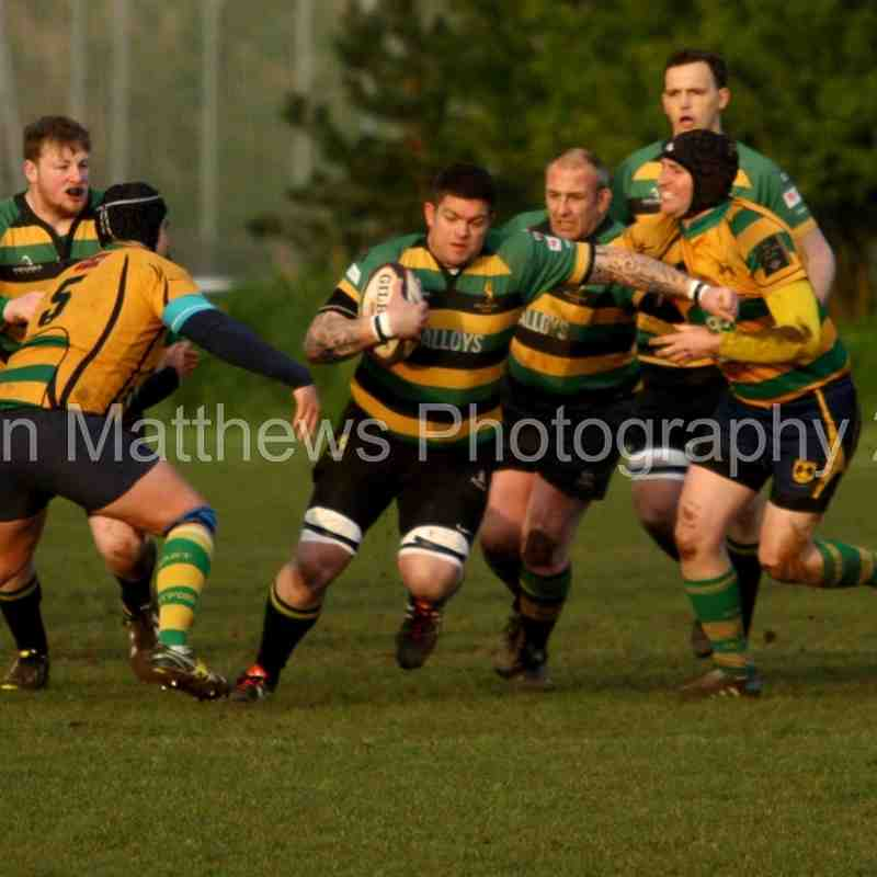 East Retford 1ST XV v Mellish RC Semi-Final @  Southwell RC