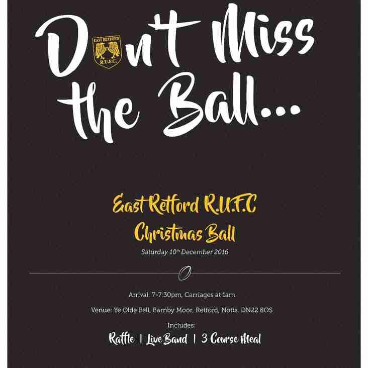 East Retford Rugby Union Football Club winter ball 2016