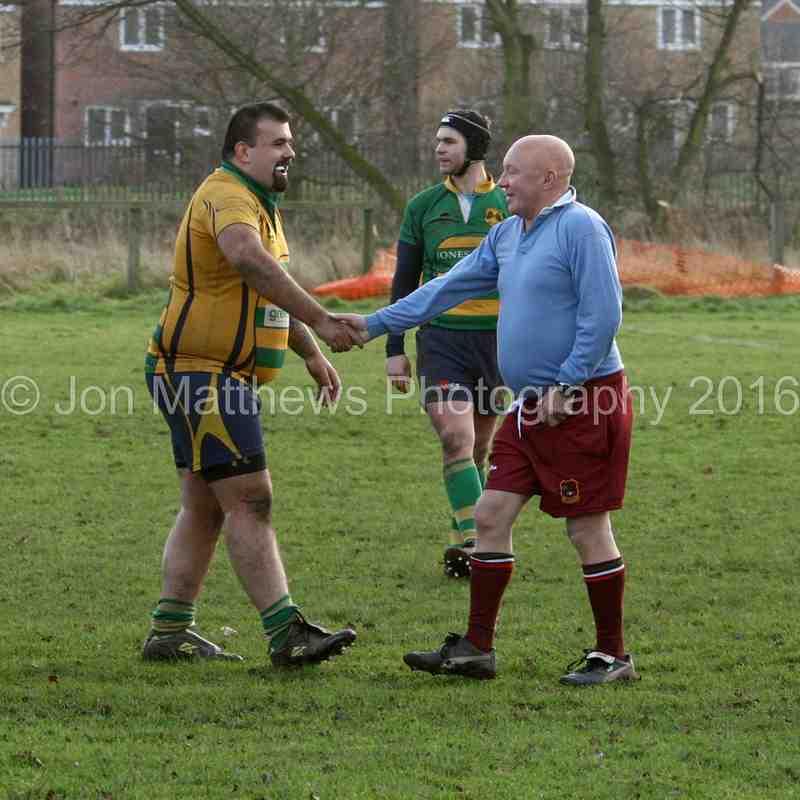 East Retford Rugby Club Over 30,s v Under 30,s 2016
