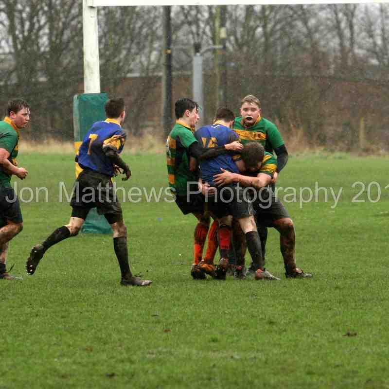 Retford Rugby Club U15 v Tupton Rugby Club