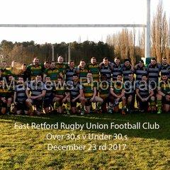 Retford Rugby Club Over 30,s v Under 30,s 2017